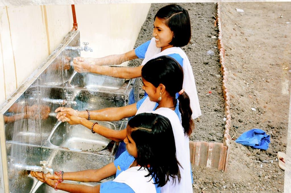 Sanitation India   https://www.flickr.com/photos/overseas-development-institute/