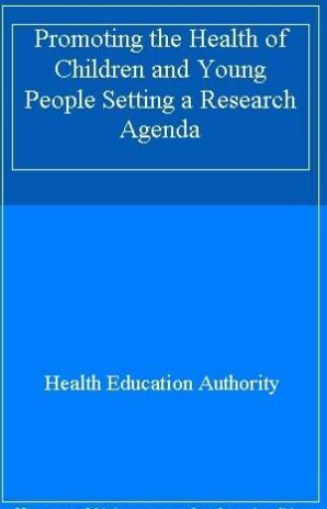 Promoting Health Book